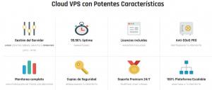caracteristicas vps webup hosting
