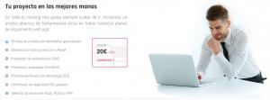hosting web webup hosting