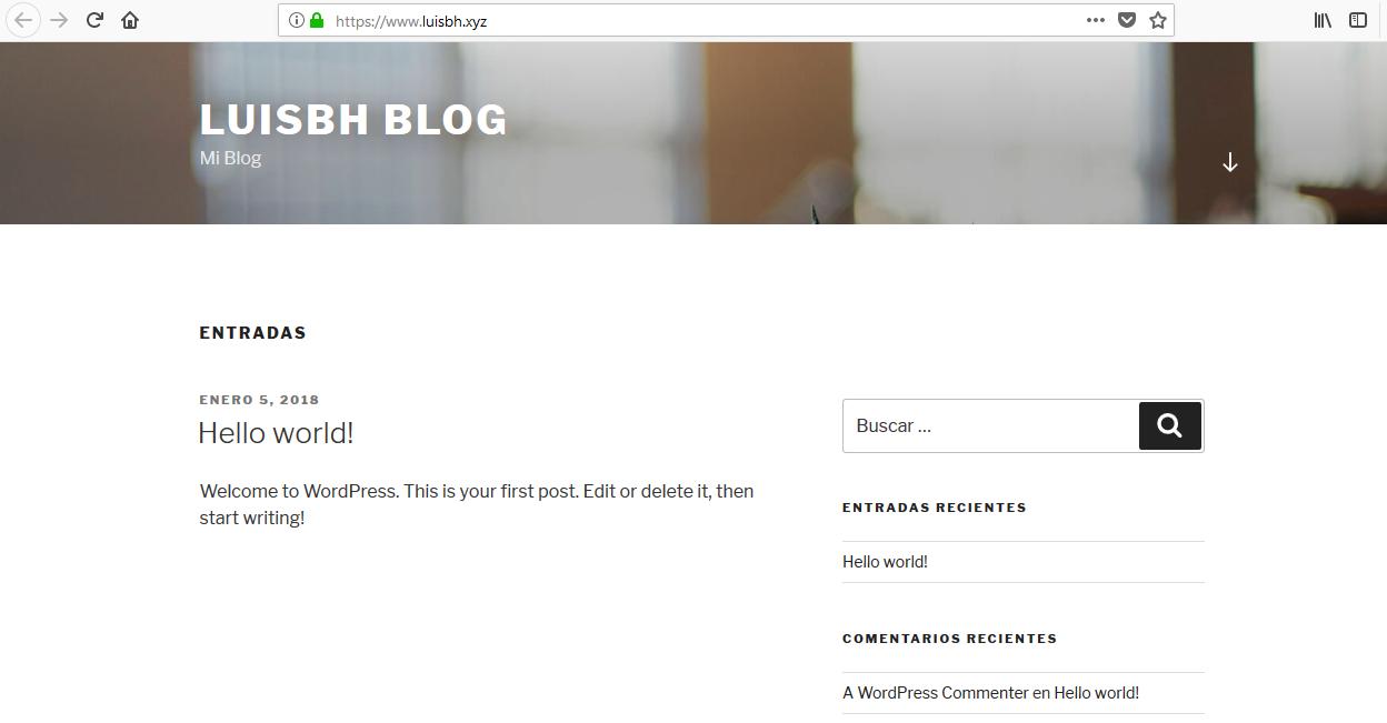 Wordpress Demo WebUp Hosting