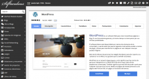 Wordpress Instalador webup hosting