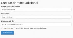 nuevodominio webuphosting