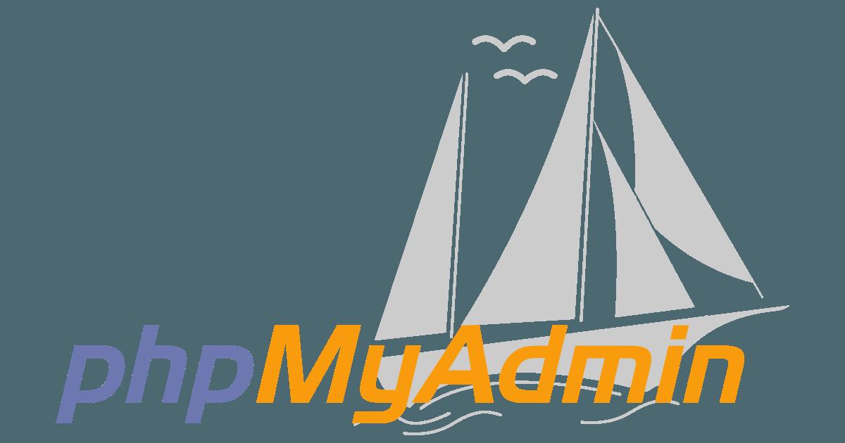 phpmyadmin webup hosting
