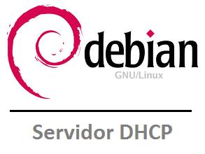 servidor dhcp en debian