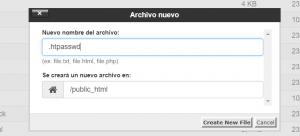 htpasswd webup hosting
