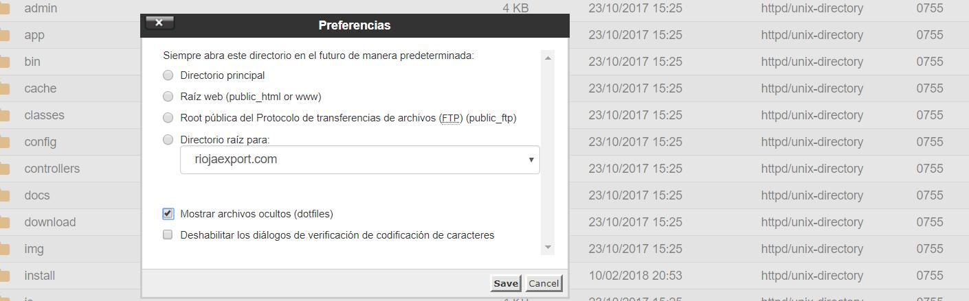 dotfile webup hosting