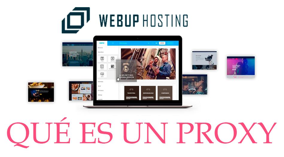 que es un proxy webup hosting