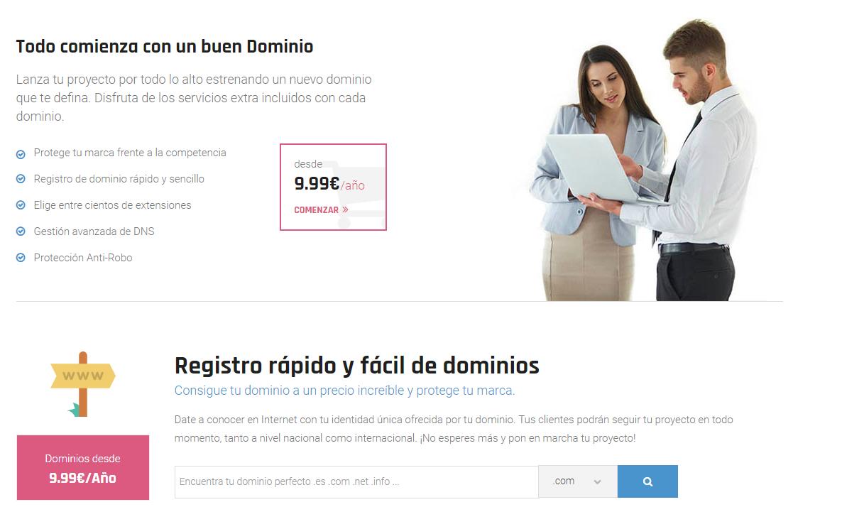 domain webup hosting