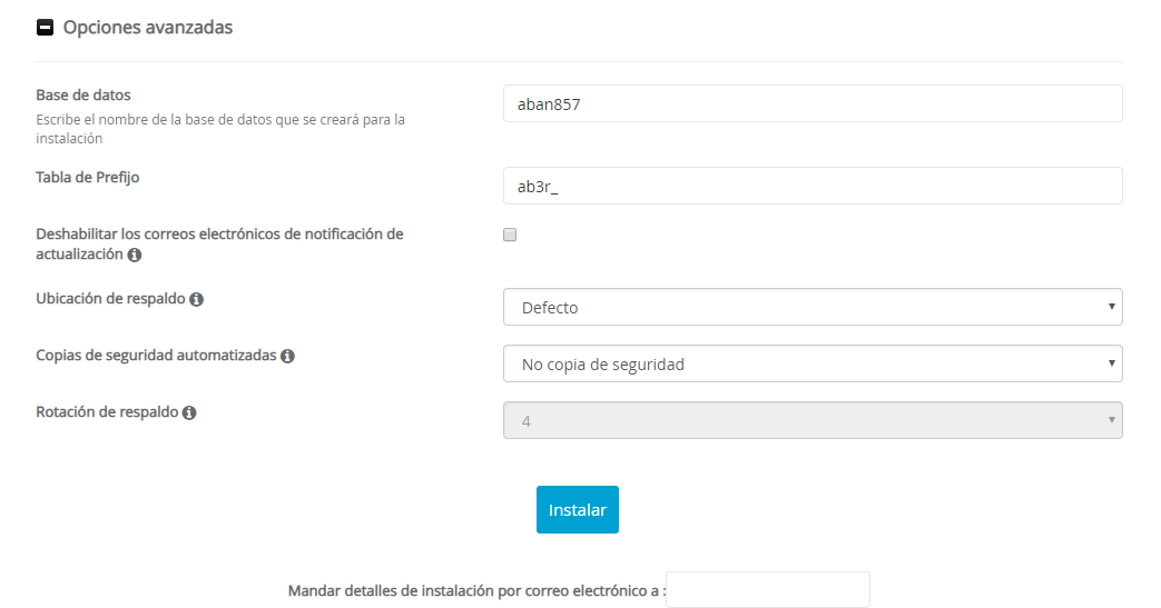 AbanteCart install3