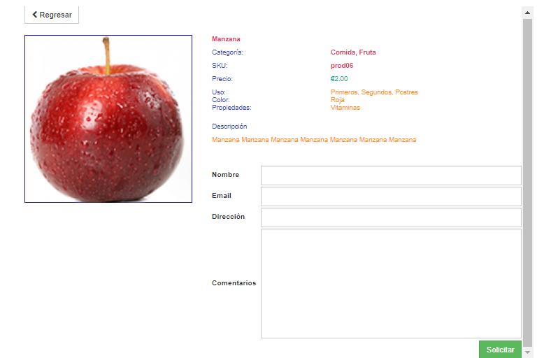 producto manzana