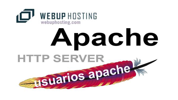 webup-Apache usuarios