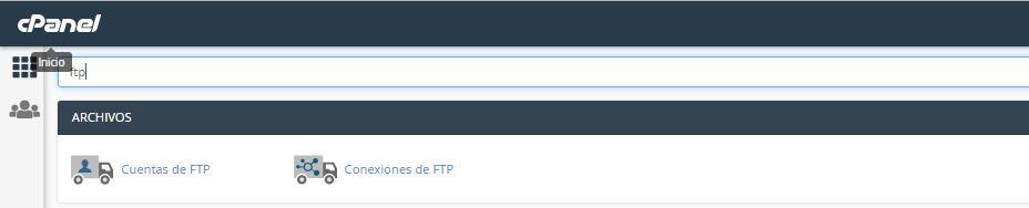 cpanel ftp